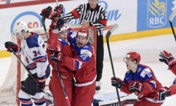 Krievijai netiks atņemts PČ hokejā junioriem, sola IIHF prezidents