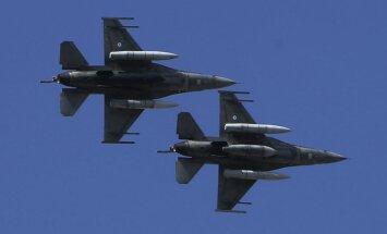 Melnkalnes gaisa telpā patrulēs Grieķijas un Itālijas lidmašīnas