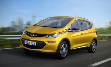'Opel' ražošanā ieviesīs elektrisko hečbeku 'Ampera-e'