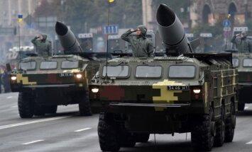 Foto: Ukraina savu neatkarību apliecina ar militāro parādi