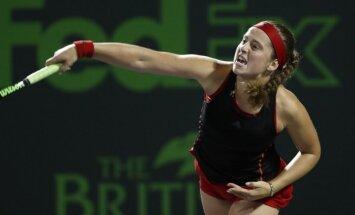 Радваньска не пустила Остапенко в полуфинал турнира в Истбурне