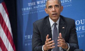 Obama aicina neļauties histērijai pēc britu referenduma