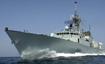Kanāda nosūta karakuģi uz Baltijas jūru