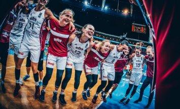 Latvija basketbola izlase