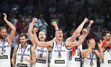 Video: Emocionālā un neapturamā Slovēnija triumfē 'Eurobasket 2017'