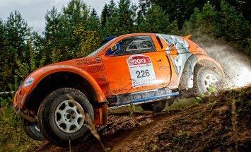 Rallijreidā 'Riga Baja' pirmās divas vietas 'RE Autoclub' braucējiem