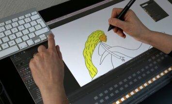 Foto: Kā top latviešu animācijas leģendas Rozes Stiebras jaunā filma 'Saule brauca debesīs'
