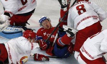 Baltkrievi no pasaules čempionāta atvadās ar uzvaru pār Norvēģiju