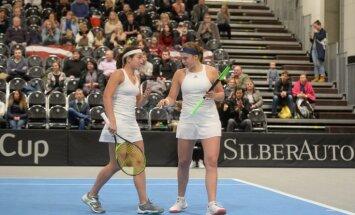 Sevastova un Ostapenko zaudē Dubaijas WTA turnīra dubultspēļu mačā