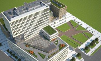 Foto: Šogad plānots uzsākt pirmos būvdarbus 'New Hanza City' teritorijā