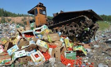 Krievijas Komunistu partija ierosina izdalīt sankciju sarakstā iekļautos pārtikas produktus trūkumcietējiem