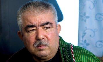 Afgāņi dala ietekmi, viceprezidentam liedz nolaisties dzimtajā zemē