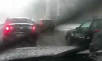 Avārija uz Vanšu tilta - 1