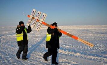 Ledus kušanas dēļ evakuēs Krievijas arktisko staciju