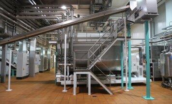 Foto: Krievijas šokolādes milzis 'Pobeda' Ventspilī gatavojas ražošanai