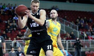 'VEF Rīga' basketbolisti Vienotās līgas mačā pārspēj Butauta trenēto 'Astana'