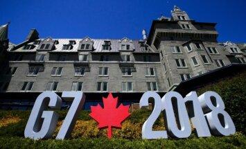 G7 vienojas par godīgāku tirdzniecību un PTO 'modernizāciju'