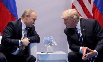 Tramps neizslēdz iespēju akceptēt Krimas pievienošanu Krievijai