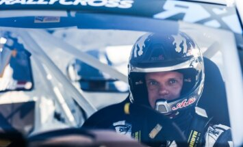 Artis Baumanis – rallijkrosa 'Euro RX' līderis Biķerniekiem gatavs ar pilnu kabatu gāzes trosēm