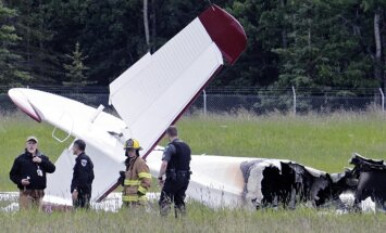 Aļaskā saduroties divām lidmašīnām, gājuši bojā pieci cilvēki