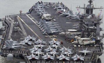 Ķīna liedz ASV aviācijas bāzes kuģim iebraukt Honkongā