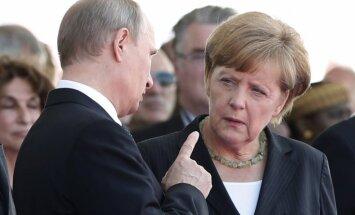 The Times: Меркель передала спецслужбам Британии данные о Путине