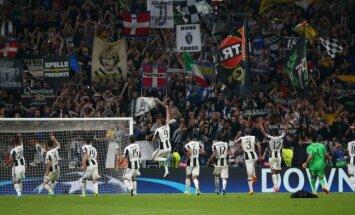 'Juventus' UEFA Čempionu līgas ceturtdaļfināla pirmajā mačā droši apspēlē 'Barcelona'