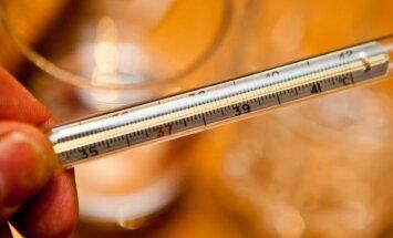 Gripas intensitāte kopumā samazinās; trīs pilsētās saslimstība pieaugusi