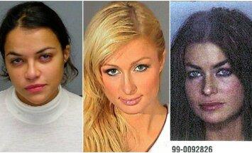 Braukšana reibumā un kautiņi: slavenas sievietes, kuras sēdējušas cietumā