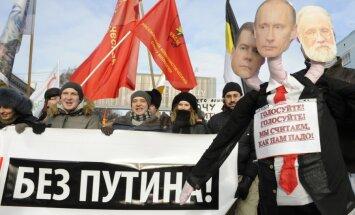 Maskava atļauj opozīcijai rīkot protesta akciju nākamajā dienā pēc prezidenta vēlēšanām