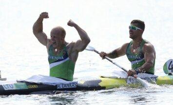 Литва взяла бронзу в байдарке-двойке, украинский каноист — двукратный чемпион