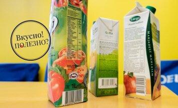 Вкусно! Полезно? Тестируем популярные овощные и фруктовые соки