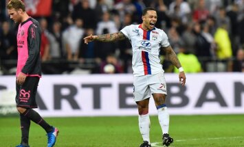 Lyon s Dutch forward Memphis Depay