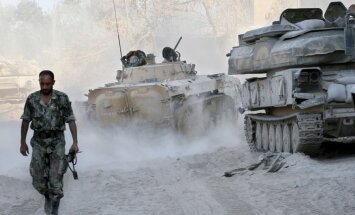 Sīrijas konflikts: Krievija aicina Damasku atdot ķīmiskos ieročus