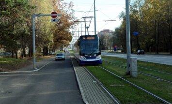 Визит вице-президента США: общественный транспорт Риги опаздывает на 10 минут
