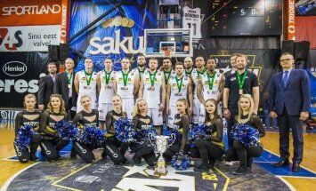 'Tartu Universitāte' basketbolisti izcīna BBL bronzu