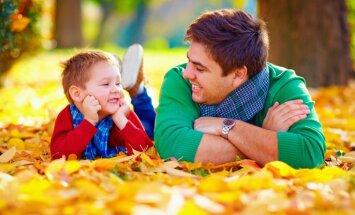 Arī tēviem jāveido ieradums mācīties par bērnu audzināšanu