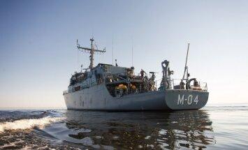 NATO un Ķīnas jūras spēku kuģu grupa pirms ieiešanas Baltijas jūrā veic kopīgu manevru
