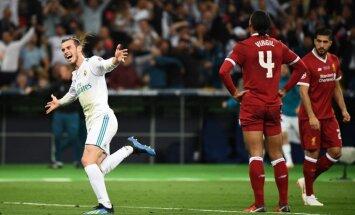 Beils ar diviem vārtiem palīdz Madrides 'Real' nosargāt UEFA Čempionu līgas troni