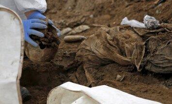 Uz Latviju pārvestas 236 Otrajā pasaules karā kritušo karavīru mirstīgās atliekas