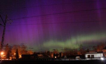 Februāra pēdējais rīts vēsākais Latgalē; atkal manīta ziemeļblāzma