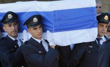 В Иерусалиме прошла церемония похорон Шимона Переса