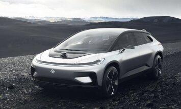 Vēl viens 1000 ZS elektromobilis konkurencei ar 'Tesla'