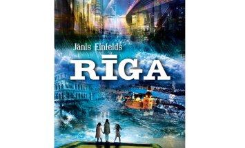 Izdota Jāņa Einfelda jaunā romānu triloģija 'Rīga'