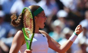Ostapenko un Sevastova saglabā rekordaugstās pozīcijas pasaules rangā