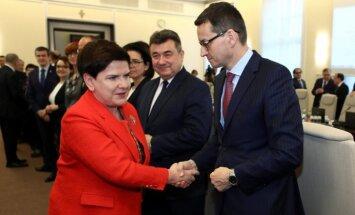 No amata atkāpusies Polijas premjere Beāta Šidlo