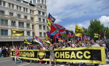 Американский журналист женился в Донецке на жительнице ДНР
