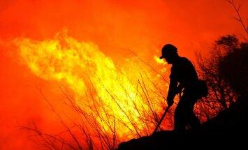 Mežu ugunsgrēkos Spānijā vismaz trīs bojāgājušie