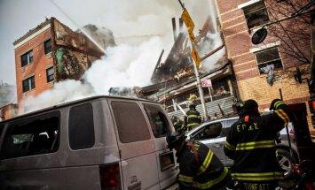Ņujorkas dzīvojamo ēku sprādzienā gājuši bojā vismaz seši cilvēki