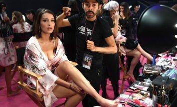 Foto: Kas notika pasaulē daiļāko meiteņu ģērbtuvē